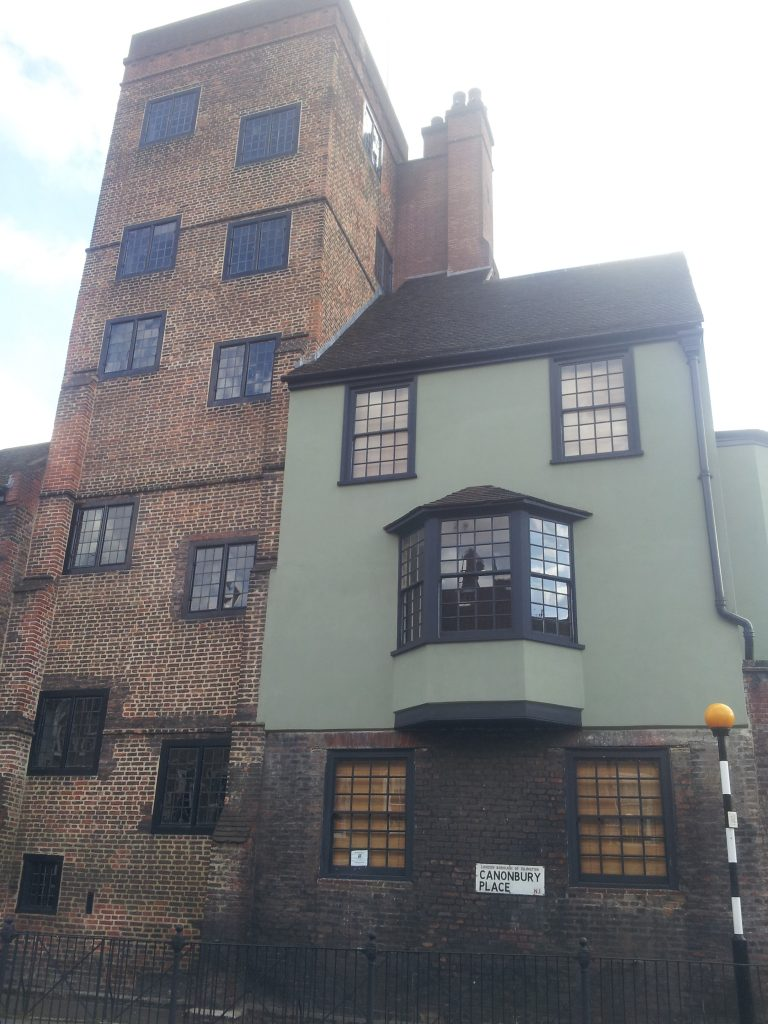 Canonbury Tower. (c) Islington Faces