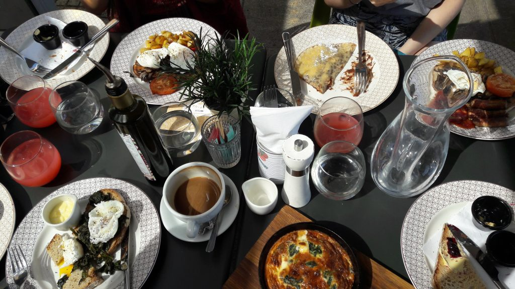 An Italian breakfast feast at ASK Italian.