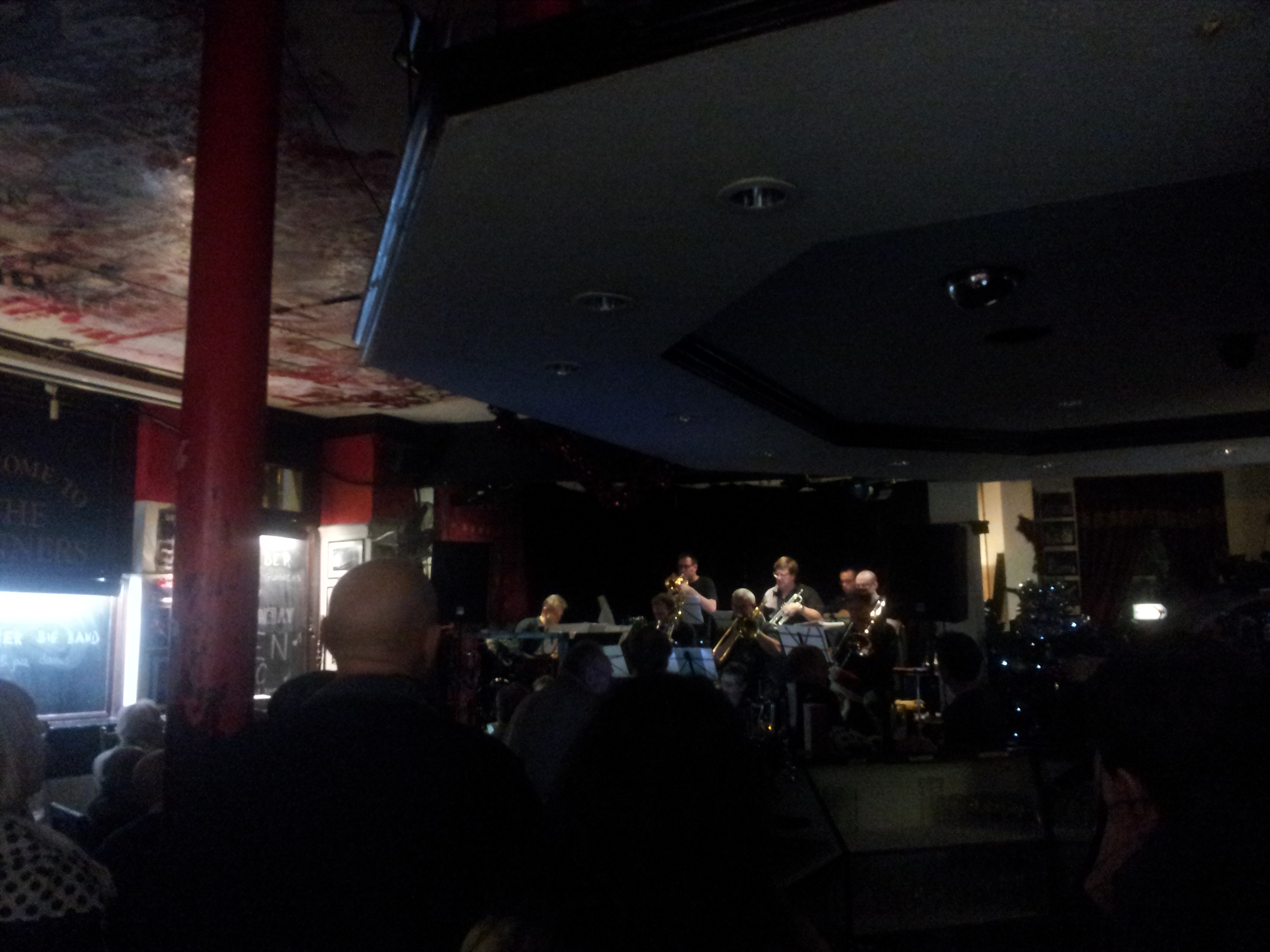 xx Big Band plays every Wednesday (on stage at 8.30pm) at the Gunners Pub on Blackstock Road. Free entry.