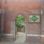The entrance to Gillespie Park is close to Arsenal tube and built into the wall of the old ink factory.