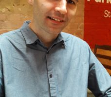 Michael Ross, writer of Happy to Help a new comedy play showing at the Park Theatre from 14 June-9 July.