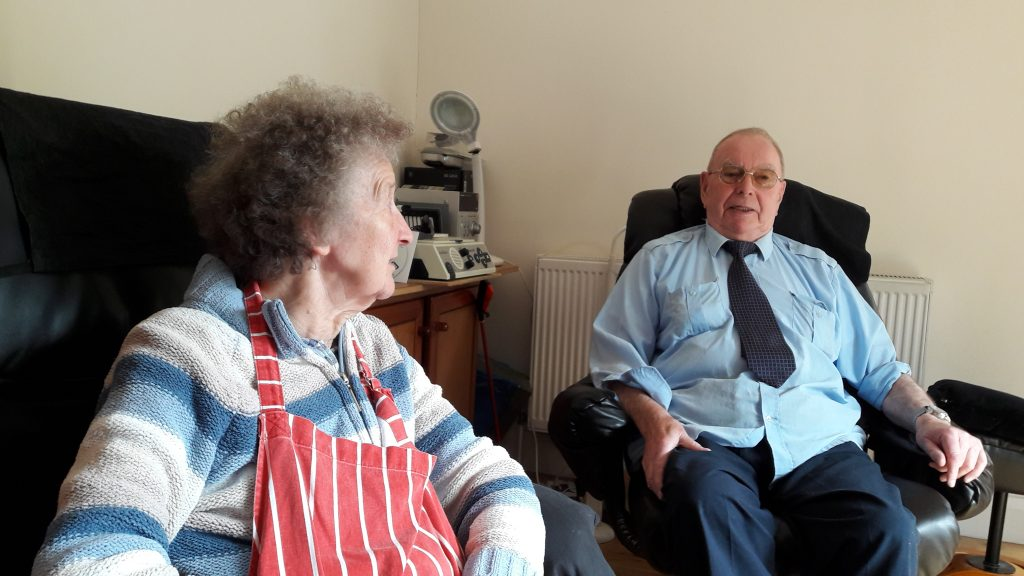 Gladys and Ken Muchamore met in Islington and raised their family here.