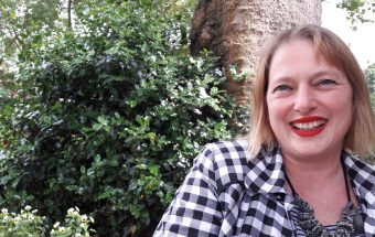 """Marnie Rose from The Garden Classroom (known as TGC locally): """"If every child learnt outside the classroom once a week I think it would make a big difference, (c) islington faces"""