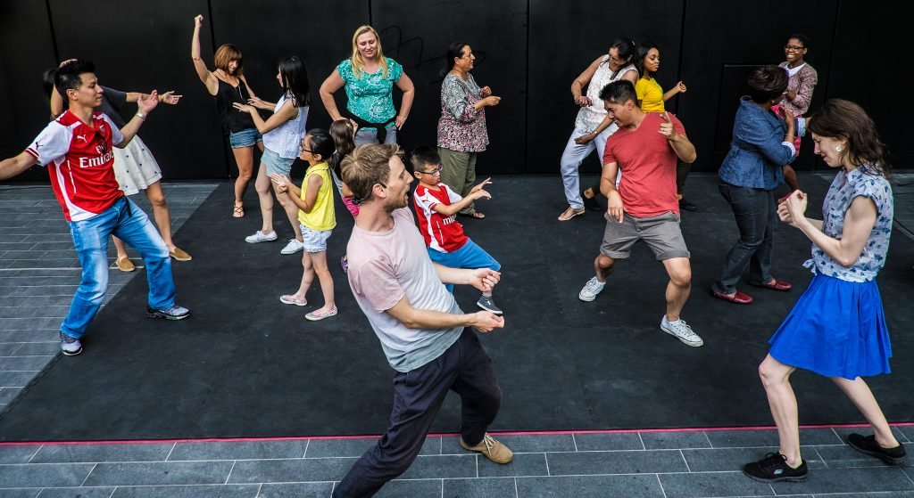 MoveMe at Canary Wharf Credit: John Wilson