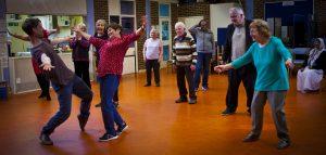 MoveMe session at Age UK- Drovers Centre. Credit: Hannah Barton