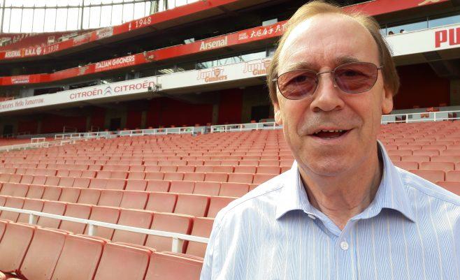 Arsenal '70s legend, Charlie George. (c) Islington Faces