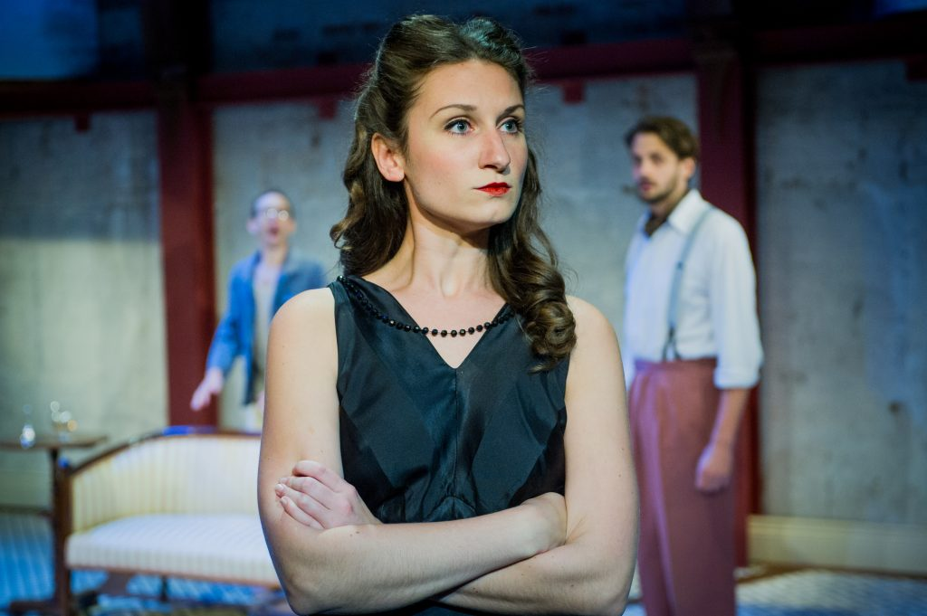 Don't miss The Roundabout at Park Theatre with Bessie Carter (c) Robert Workman