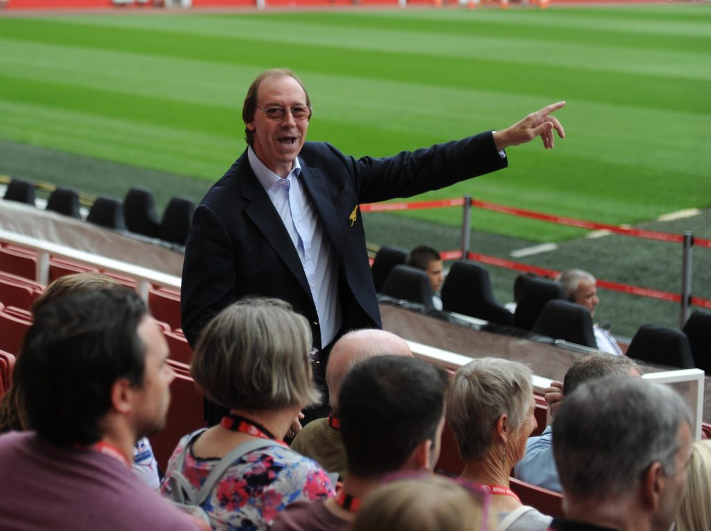 Charlie George Legends Tour. Emirates Stadium, Arsenal Football Club, London, 21/7/2014. Credit: Stuart MacFarlane / Arsenal Football Club.