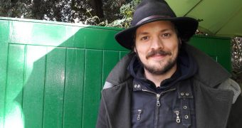 Jack Tomkins runs the Daily Grind cafe near Highbury clock tower. (C) islington faces