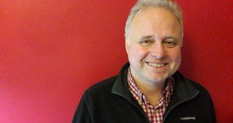 Pete May, Islington based football writer. His latest book is Goodbye to Boleyn. (c) Islington Faces