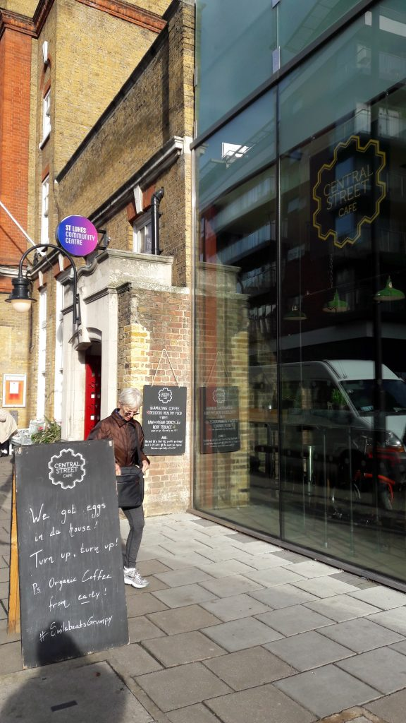 Central Cafe and St Lukes - at the heart of EC1 life. (c) islington faces