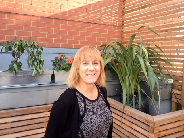 Jean Hughes, recycling officer at Islington's Household Waste & Recycling Centre. (c) Jean Hughes on Islington Faces.