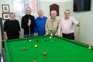 The billiard room in action at St Lukes Community Centre