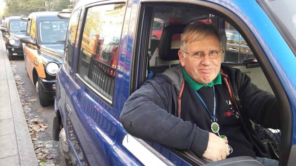 Ray Coggin: taxi driver