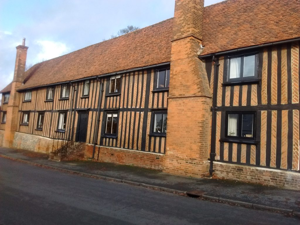 In Standon this beautiful building - now residential - was the Ralph Sadler Primary School.