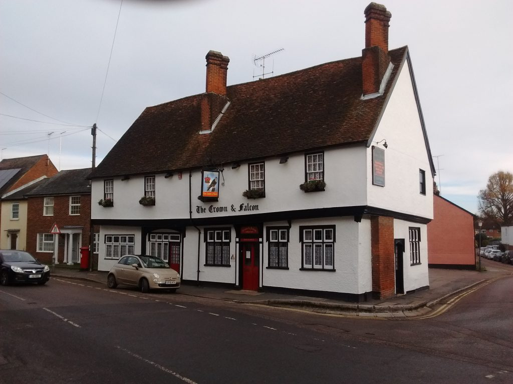 The Puckeridge pub where Pepys stayed and had to buy a pair of shoes from the landlord.