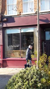 Little Gem is the well named cafe on Corsica Street, just off Highbury Fields. (c) Islington Faces